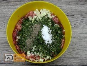 Töltött karfiol recept, töltött karfiol elkészítése 1. lépés
