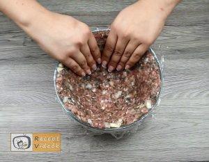Töltött karfiol recept, töltött karfiol elkészítése 2. lépés