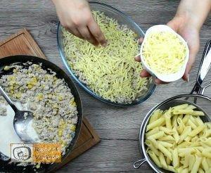 Tejszínes-kukoricás penne recept, tejszínes-kukoricás penne elkészítése 5. lépés