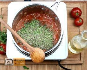 Tűzdelt húsgombócok recept elkészítése 5. lépés