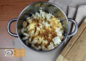 Banános kenyérfelfújt recept, banános kenyérfelfújt elkészítése 3. lépés