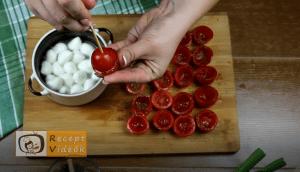 bundás paradicsom falatkák recept elkészítése 5. lépés