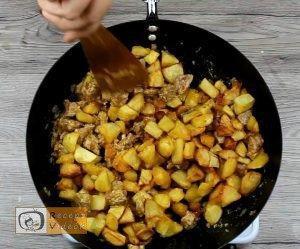 brassói aprópecsenye recept, brassói aprópecsenye elkészítése 7. lépés