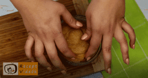 Churros muffin recept, churros muffin elkészítése 10. lépés