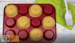 Churros muffin recept, churros muffin elkészítése 7. lépés