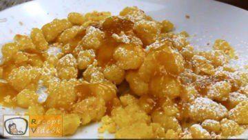 Császármorzsa recept, császármorzsa elkészítése - Recept Videók