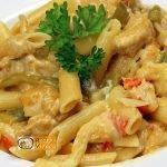 csirkés zöldséges penne recept, csirkés zöldséges penne elkészítése - Recept Videók