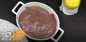 Halloweeni süti recept (zselégiliszta csokiföldben) 6. lépés