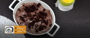 Halloweeni süti recept (zselégiliszta csokiföldben) 7. lépés