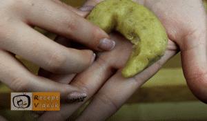 Hókifli recept, hókifli elkészítése 6. lépés