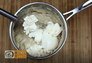 Karamellás babapiskótás szelet recept, karamellás babapiskótás szelet elkészítése 4. lépés