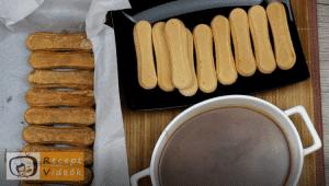 Karamellás babapiskótás szelet recept, karamellás babapiskótás szelet elkészítése 9. lépés