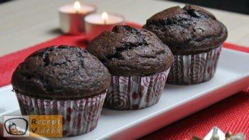 Kakaós muffin recept, kakaós muffin elkészítése - Recept Videók
