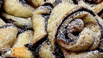 Kakaós csavart recept, kakaós csavart elkészítése - Recept Videók