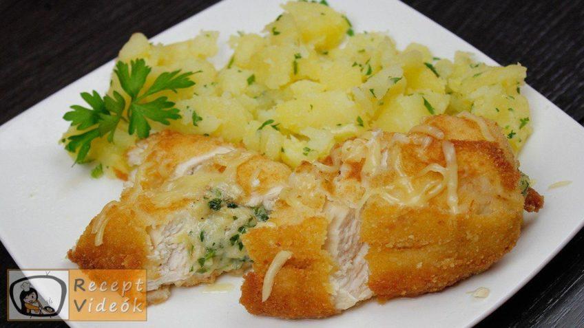 Kijevi csirkemell recept, kijevi csirkemell elkészítése - Recept Videók