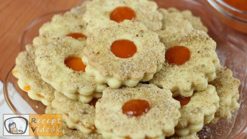Linzer karikák recept, linzer karikák elkészítése - Recept Videók