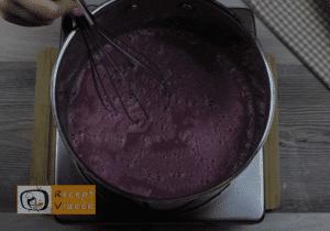 Meggyes pite recept, meggyes pite elkészítése 4. lépés