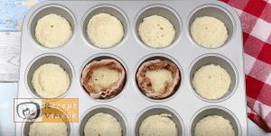 sajtos-baconös tojásmuffin recept, sajtos-baconös tojásmuffin elkészítése 3. lépés