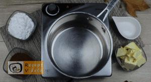 Zserbó recept, zserbó elkészítése 7. lépés