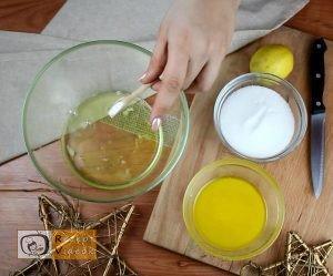 Gyümölcskenyér recept, gyümölcskenyér elkészítése 1. lépés