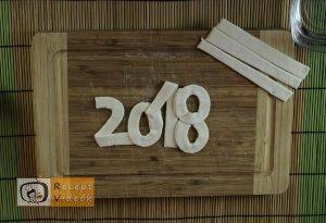 Újévi leveles recept, újévi leveles elkészítése 3. lépés