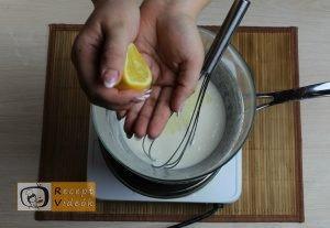 Habcsók recept, habcsók elkészítése 2. lépés