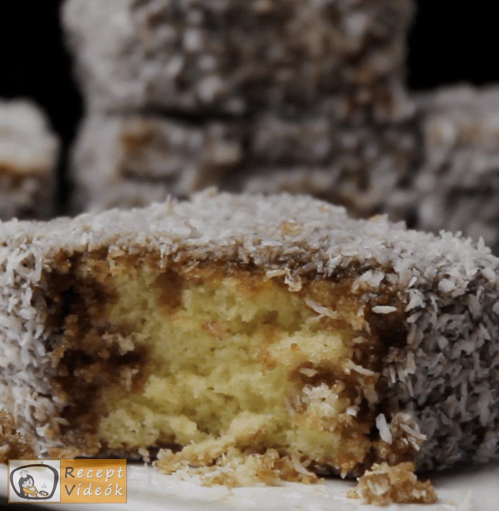 Kókuszkocka recept, kókuszkocka elkészítése - Recept Videók