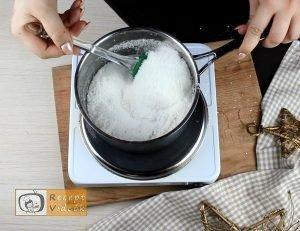 Szaloncukor recept, szaloncukor elkészítése 5. lépés