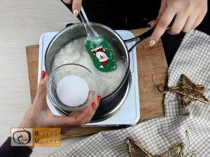 Szaloncukor recept, szaloncukor elkészítése 6. lépés