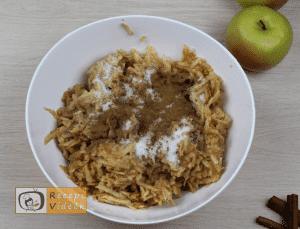 Almás pite recept, almás pite elkészítése 4. lépés