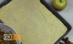 Almás pite recept, almás pite elkészítése 5. lépés
