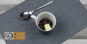 mogyorókrémes bögrés süti recept elkészítése 1. lépés