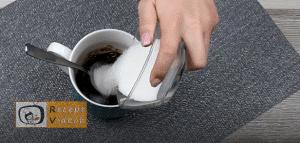 mogyorókrémes bögrés süti recept elkészítése 2. lépés