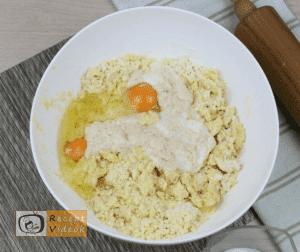 Burgonyás pogácsa (krumplis pogácsa) recept, burgonyás pogácsa (krumplis pogácsa) elkészítése 2. lépés