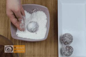 Kókuszgolyó recept, kókuszgolyó elkészítése 5. lépés