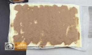 Kakaós csiga recept, kakaós csiga elkészítése 2. lépés