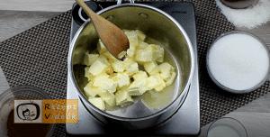 Kókuszkocka recept, kókuszkocka elkészítése 5. lépés