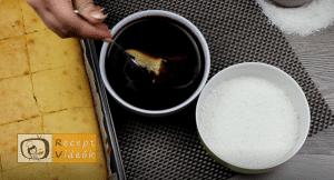 Kókuszkocka recept, kókuszkocka elkészítése 6. lépés