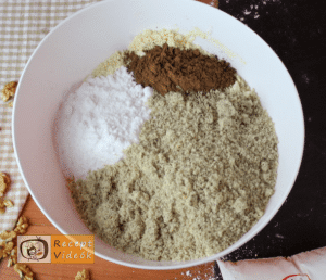 Mandulás kagyló süti recept, mandulás kagyló süti elkészítése 2. lépés