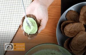 Mandulás kagyló süti recept, mandulás kagyló süti elkészítése 8. lépés