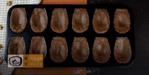 Mandulás kagyló süti recept, mandulás kagyló süti elkészítése 3. lépés