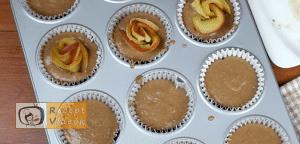 Almás pite muffin recept, almás pite muffin elkészítése 14. lépés