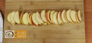 Almás pite muffin recept, almás pite muffin elkészítése 5. lépés