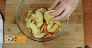 Almás pite muffin recept, almás pite muffin elkészítése 6. lépés