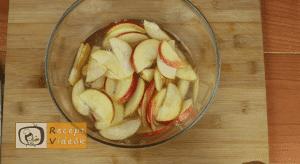 Almás pite muffin recept, almás pite muffin elkészítése 7. lépés