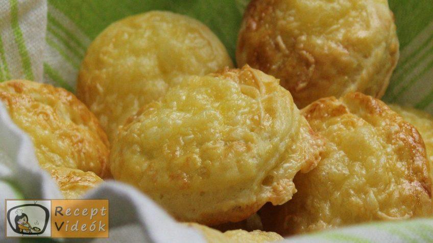 Sajtos pogácsa recept, sajtos pogácsa elkészítése - Recept Videók