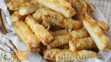 Sajtos rudak recept, sajtos rudak elkészítése - Recept Videók