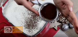 Tiramisu recept, tiramisu elkészítése 8. lépés