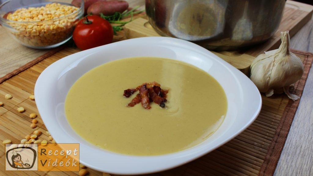 Sárgaborsó főzelék recept, sárgaborsó főzelék elkészítése - Recept Videók