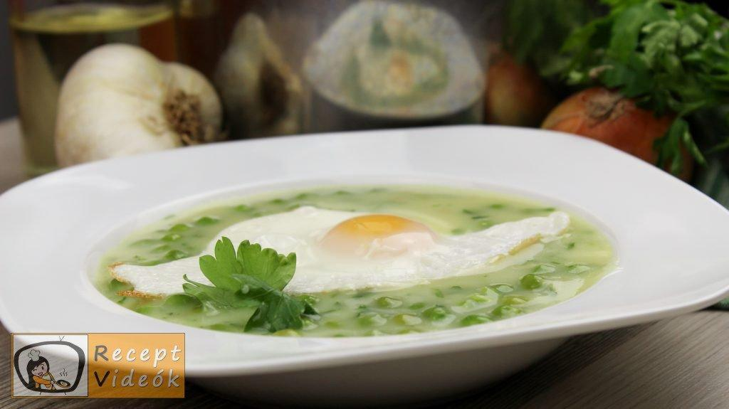 Zöldborsófőzelék recept, zöldborsófőzelék elkészítése - Recept Videók